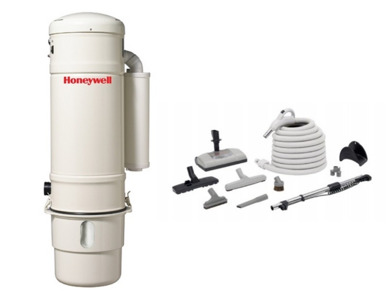 Honeywell 4B-H703 and H205 Elite Electric Central Vacuum Package