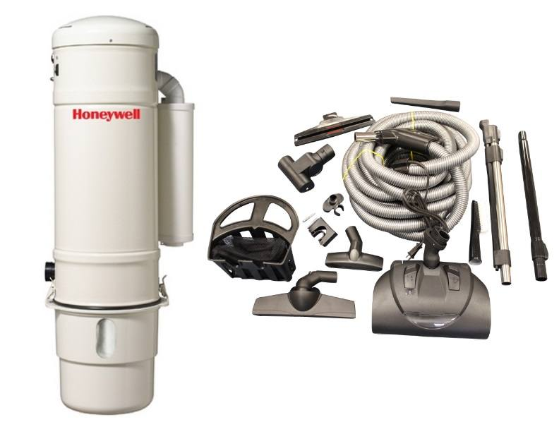 Honeywell 4B-H703 and KCH13840 Select Electric Central Vacuum Package