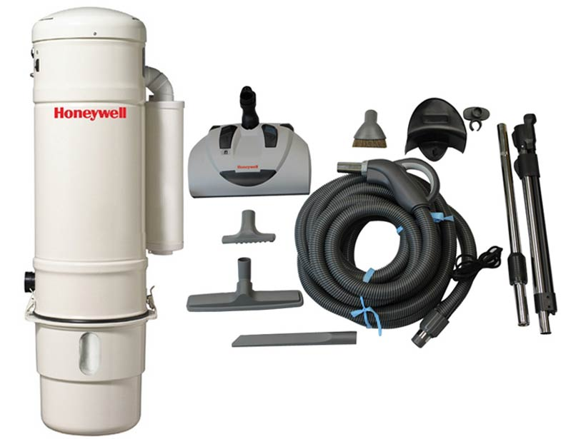Honeywell 4B-H703 and H400 Premier Electric Central Vacuum Package