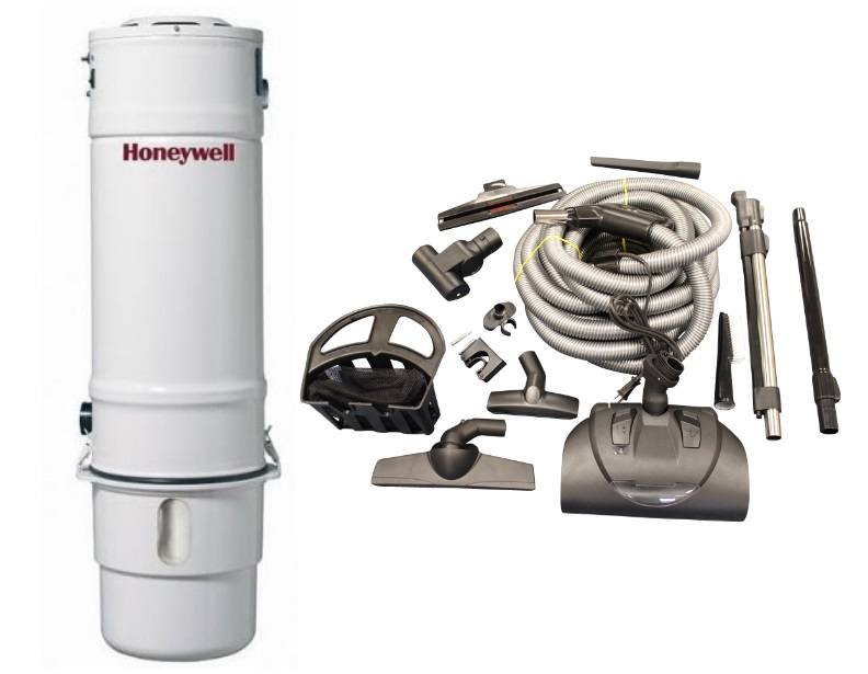 Honeywell 4B-H503 and KCH13840 Select Electric Central Vacuum Package
