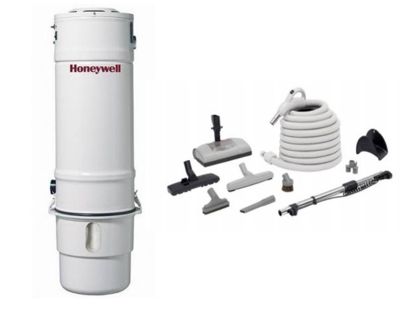 Honeywell 4B-H503 and H205 Elite Electric Central Vacuum Package