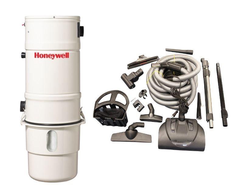 Honeywell 4B-H403 and KCH13840 Select Electric Central Vacuum Package
