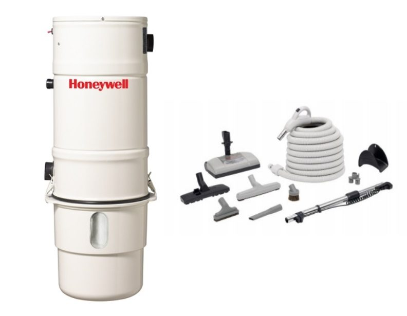Honeywell 4B-H403 and H205 Elite Electric Central Vacuum Package