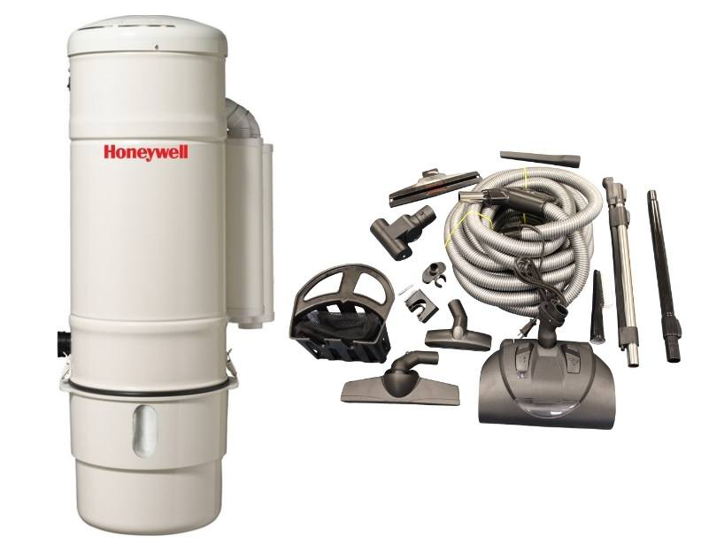 Honeywell 4B-H902 and KCH13840 Select Electric Central Vacuum Package