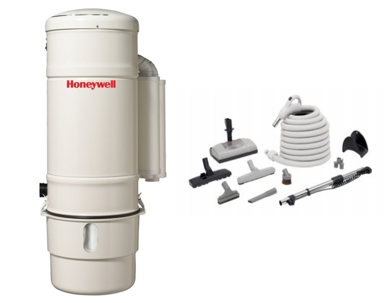 Honeywell 4B-H902 and H205 Elite Electric Central Vacuum Package