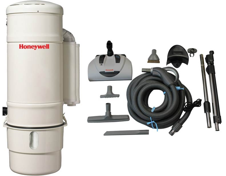 Honeywell 4B-H902 and H400 Premier Electric Central Vacuum Package