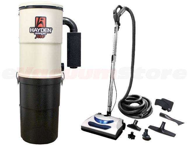 Hayden SuperVac 7000 Performance 30 Foot Central Vacuum Package