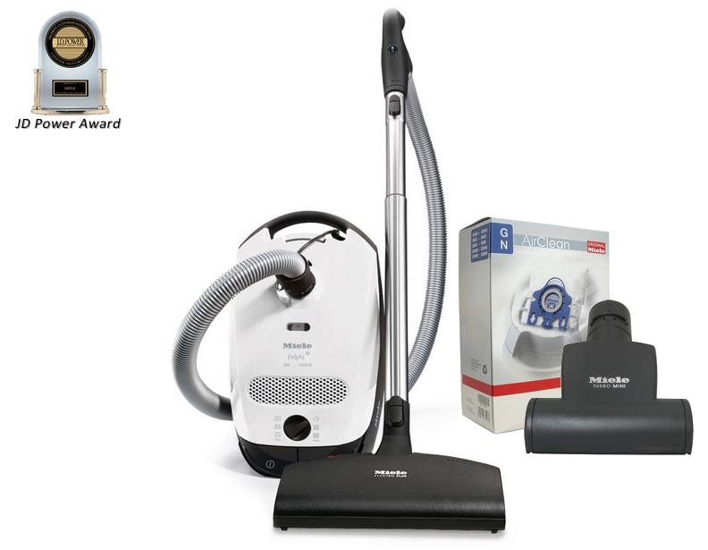Miele Delphi Deluxe Package