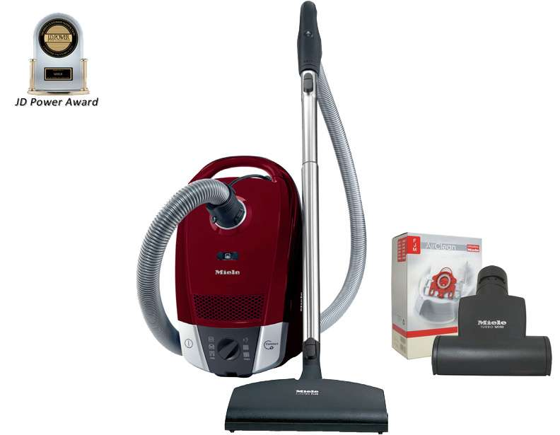 Miele S6270 Topaz Deluxe Package