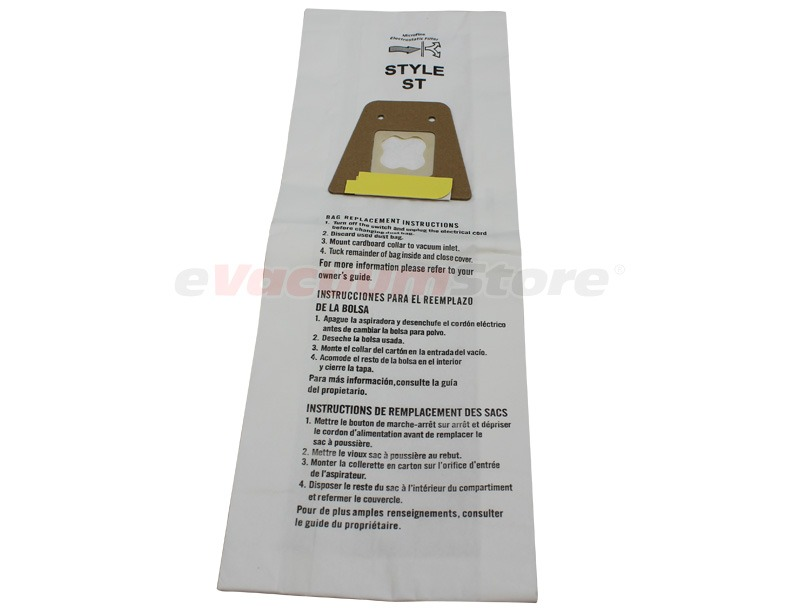 Sanitaire Style ST Vacuum Bags 3 Pack