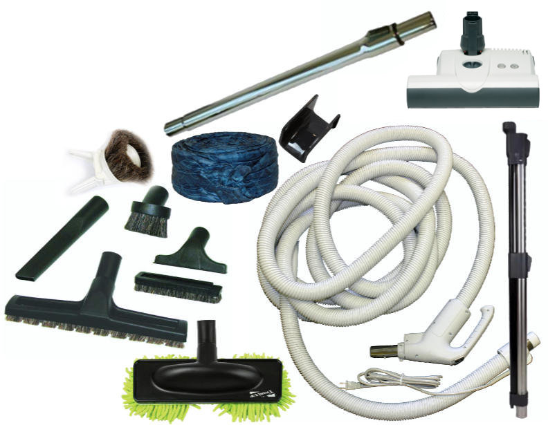 SEBO ET-1 Central Vacuum Accessory Kit - 30FT Direct Connect