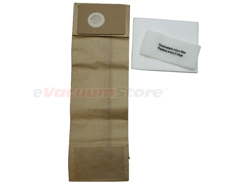 Advance Spectrum Vacuum Bags - 10 pack w/ 2 Pre-Filters