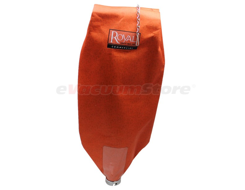 Royal Commercial Upright Orange Bag With Zipper