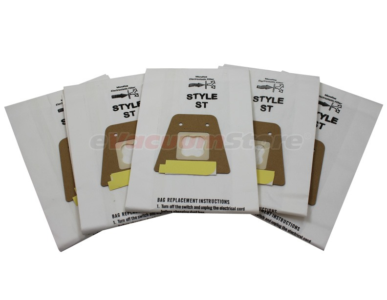 Sanitaire Style ST Vacuum Bags 5 Pk by Envirocare