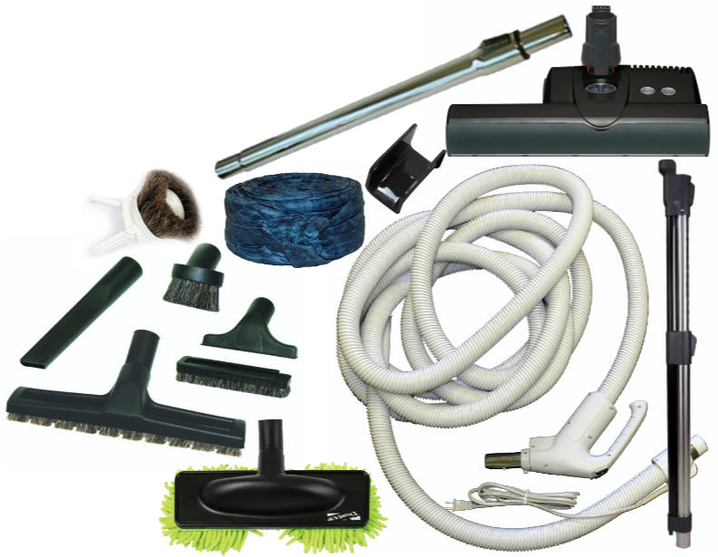 SEBO ET-1 Central Vacuum Accessory Kit - 30FT