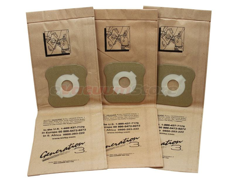 Kirby Generation 3 Vacuum Bags No Genuine Pack