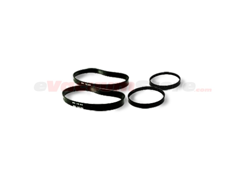 Shark UV210 Vacuum Belt Kit - 2 Brushroll Belts, 2 Drive Belts