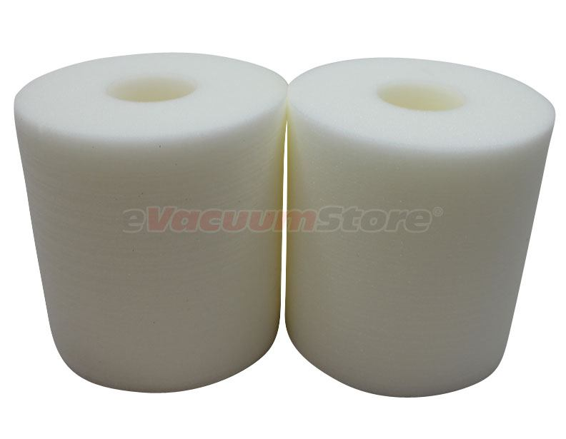 Electrolux Central Vacuum White Foam Filter - 2 Pack