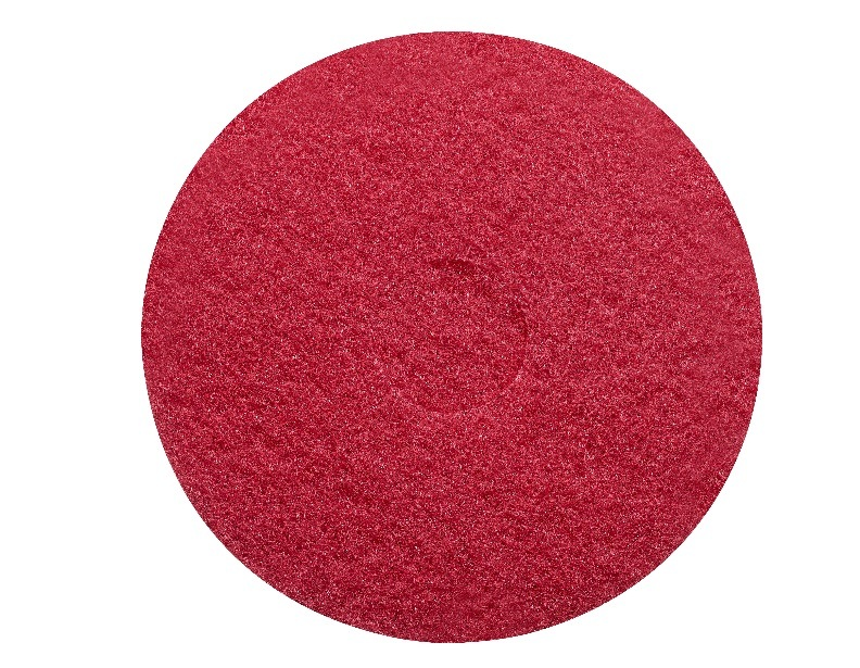 Sanitaire 13 Inch Red Scrub Pad