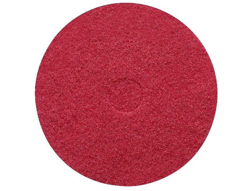 Sanitaire 17 Inch Red Scrub Pad