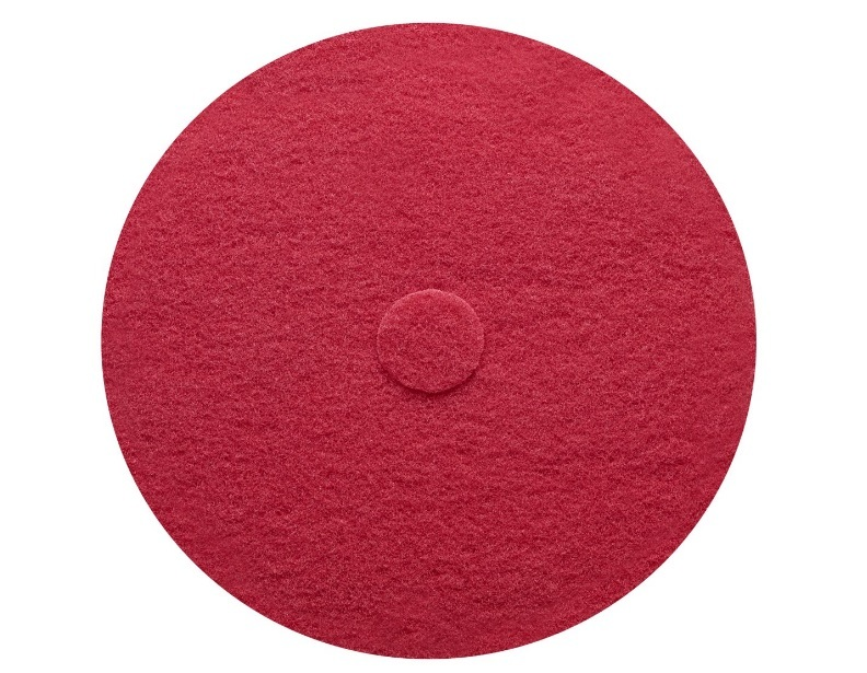 Sanitaire 20 Inch Red Scrub Pad