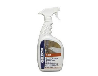 Oreck Grunge Attack Ceramic Tile Amp Grout Cleaner 32oz