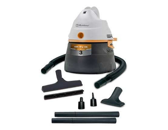 Koblenz 3 Gallon WD-354 Wet Dry Vacuum Cleaner