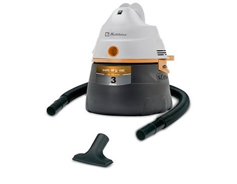 Koblenz 3 Gallon WD-353 Wet Dry Vacuum Cleaner