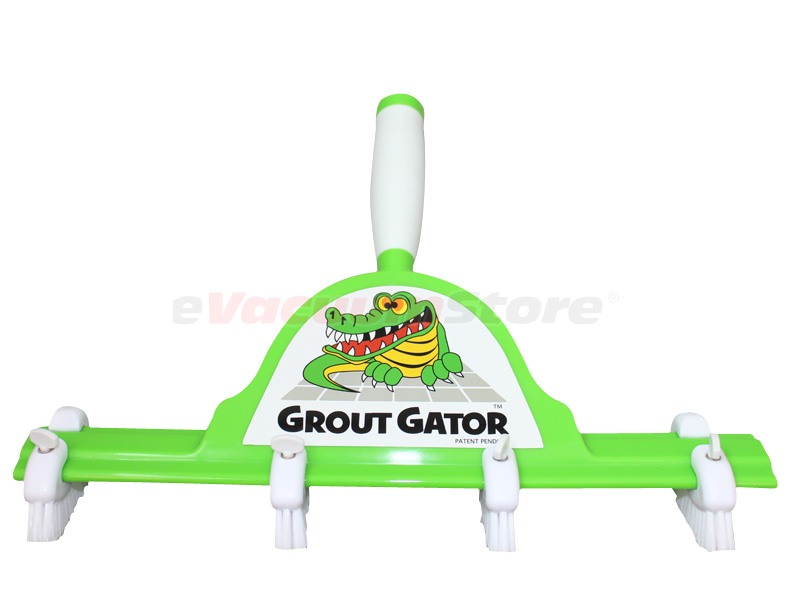 Grout Gator Head with 4 Brushes