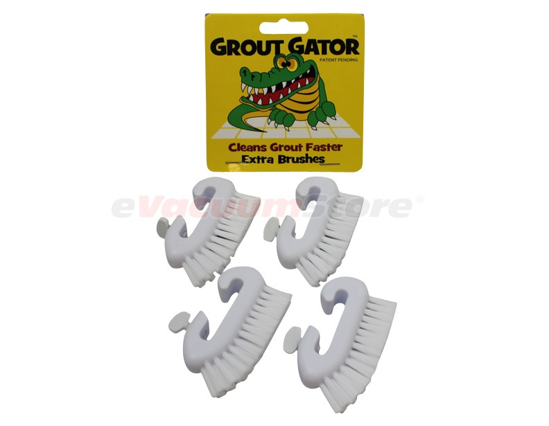 Grout Gator Adjustable Brushes - 4 pack