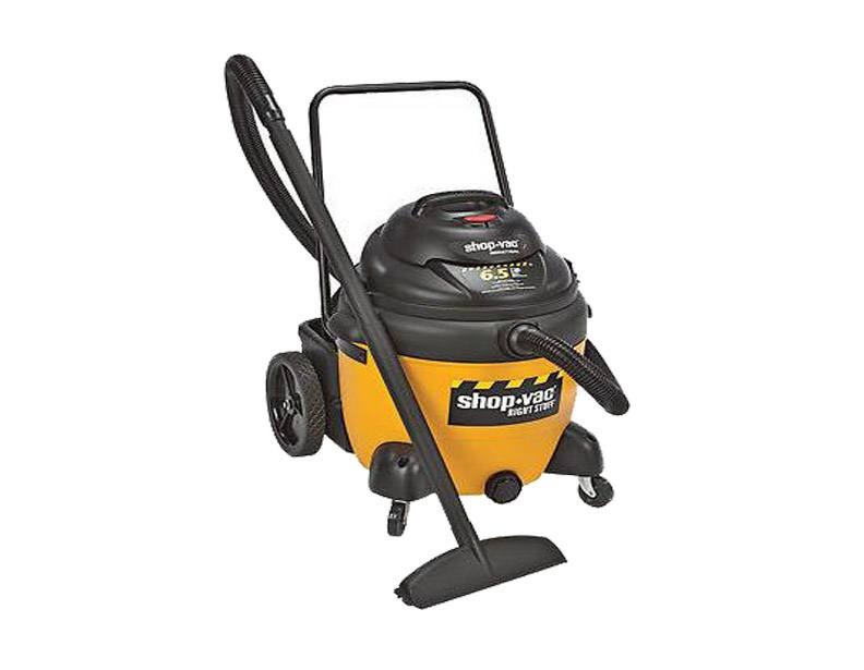 Shop-Vac The Right Stuff 18 Gal 6.5 HP Wet/Dry Vacuum with Cart