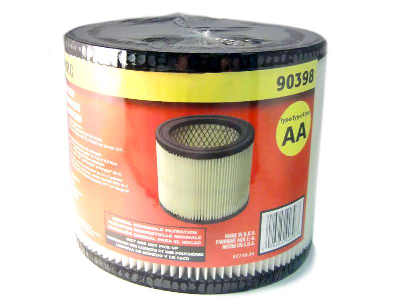 Shop-Vac Small Cartridge Filter Type AA