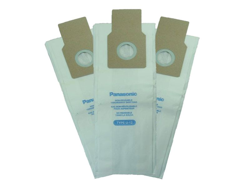 Panasonic U-12 Vacuum Cleaner Bags - 3 pack