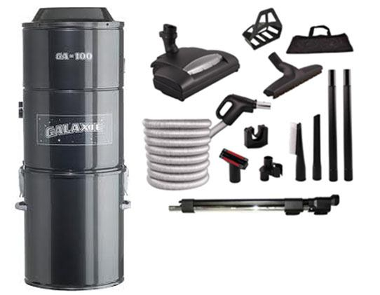 Galaxie Vacuum Ga 100 And Deluxe Attachment Kit