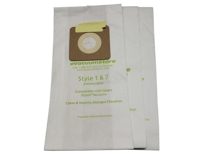 Bissell Style 7 Generic 3 Pack Bags