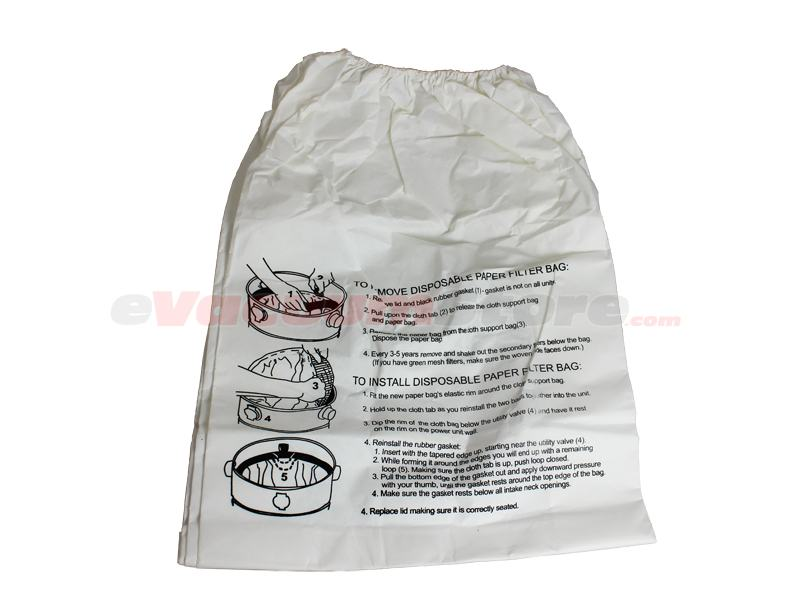 Electrolux CB 2000 Commercial Vacuum Bags Generic