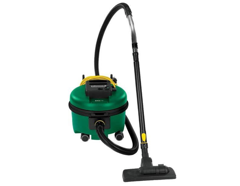 Bissell BG78 Commercial Quiet Lightweight Canister Vacuum