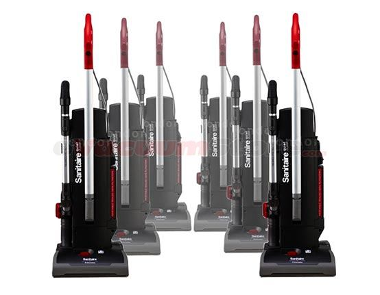 Sanitaire Commercial Upright Vacuum SC9180 Six Pack