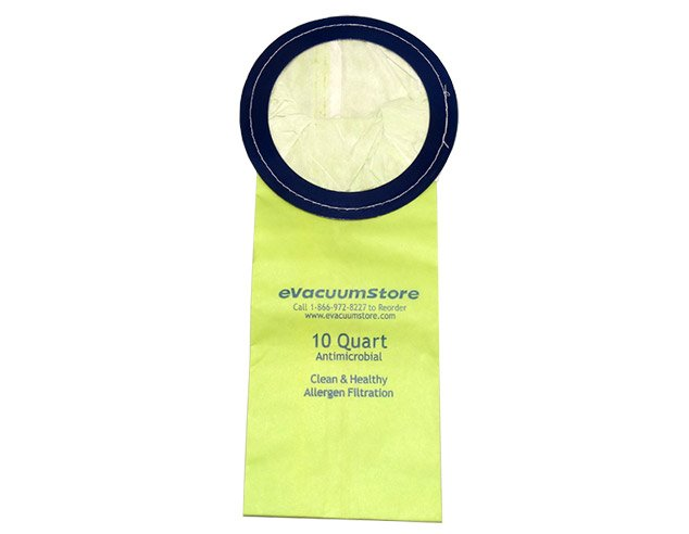 Oreck 10 Quart Disposable Backpack Vacuum Bags