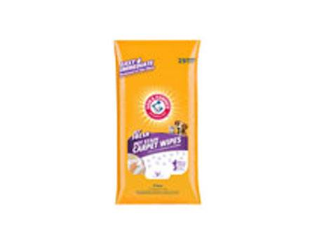 Arm & Hammer Pet Fresh Carpet & Upholstery Wipes w/ Tray