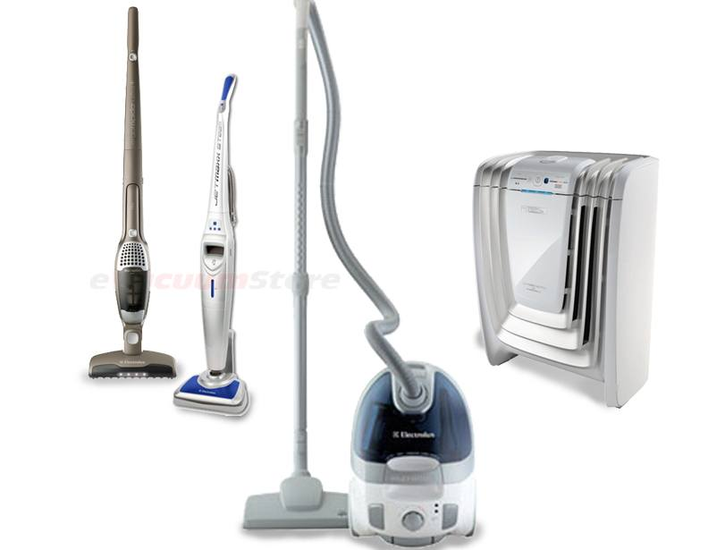 Electrolux Bronze Vac Purify Bundle