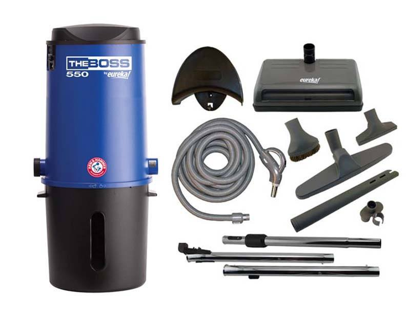 Eureka The Boss CV3121 Central Vacuum Package
