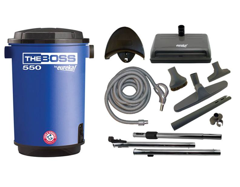 Eureka CV3120 The Boss Central Vacuum Package
