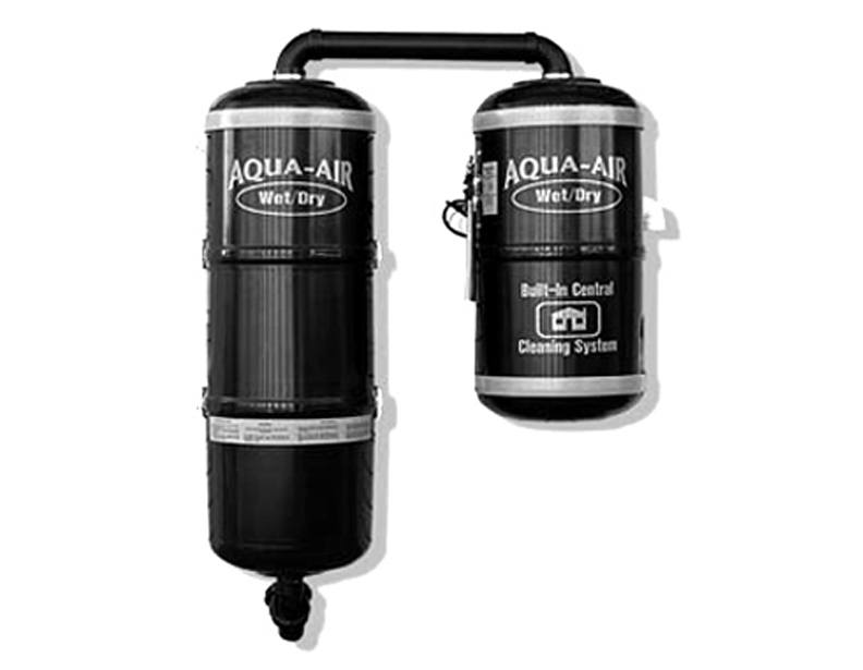 Aqua-Air 2-Motor Wet & Dry Central Vacuum