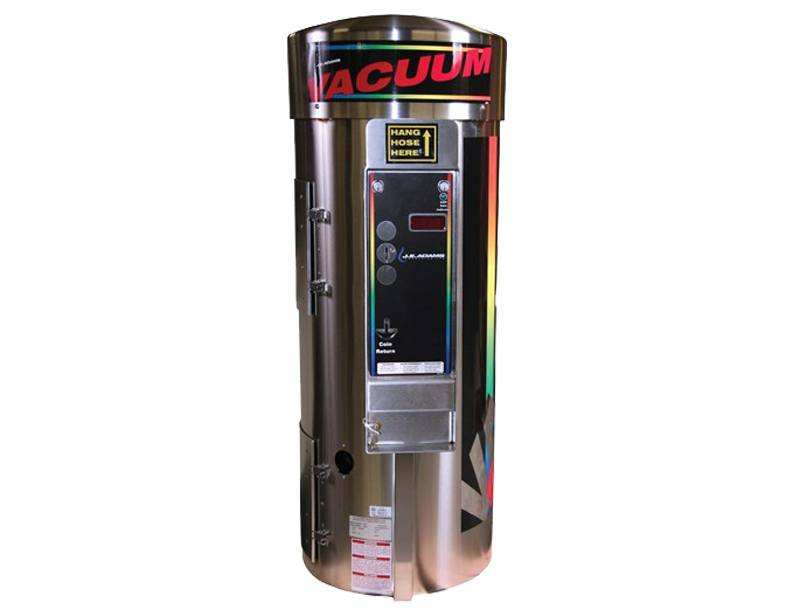 J.E. Adams 9200-4 2-Motor Car Wash Vacuum w/ Digital Display