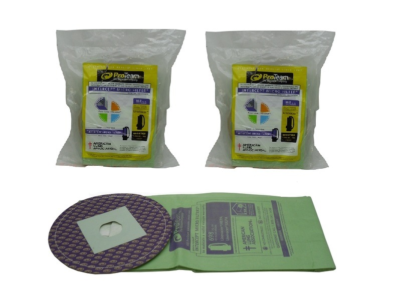 ProTeam Intercept Micro Filter Vacuum Bags 20 Pack