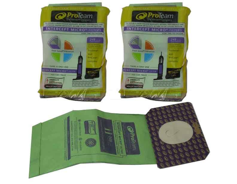 Proteam Intercept Micro Filters 103483 20 Pack