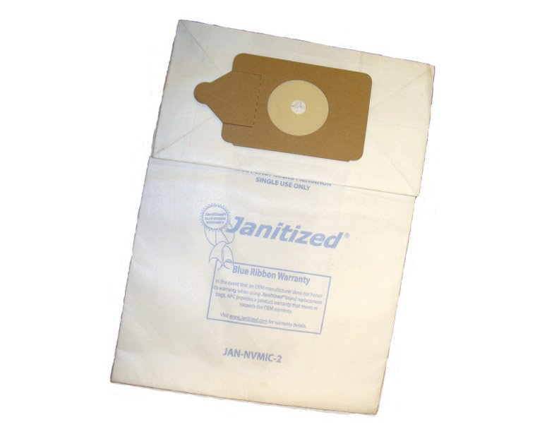 Numatic Janitized Henry/James Paper Bags - 10 pack