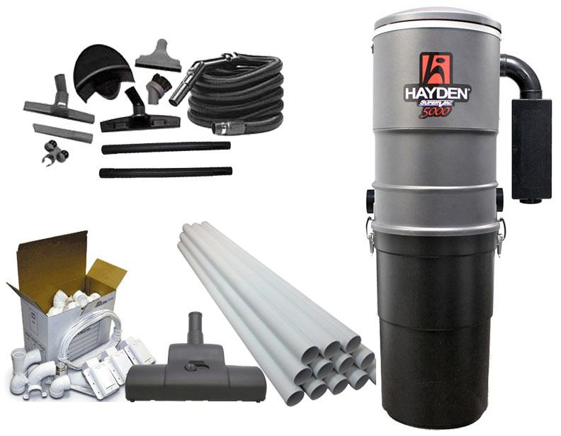 Hayden SuperVac 5000 Basic Builder's Package