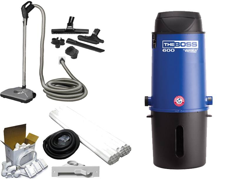 Eureka CV3291Q The Boss Central Vacuum Premier Builder's Package